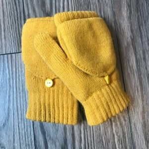 Urban Outfitters Plush Convertible Gloves